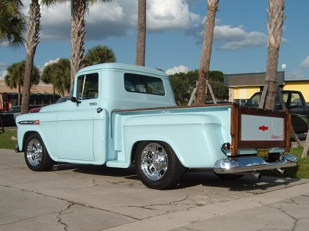 Vintage Chevy Tuuck
